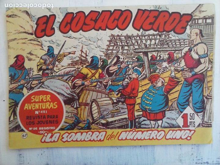 Tebeos: EL COSACO VERDE COMPLETA ORIGINAL Y SUELTA - 1 AL 144 , MAGNÍFICO ESTADO, VER TODAS LAS PORTADAS - Foto 103 - 94629439