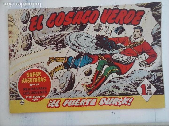 Tebeos: EL COSACO VERDE COMPLETA ORIGINAL Y SUELTA - 1 AL 144 , MAGNÍFICO ESTADO, VER TODAS LAS PORTADAS - Foto 104 - 94629439