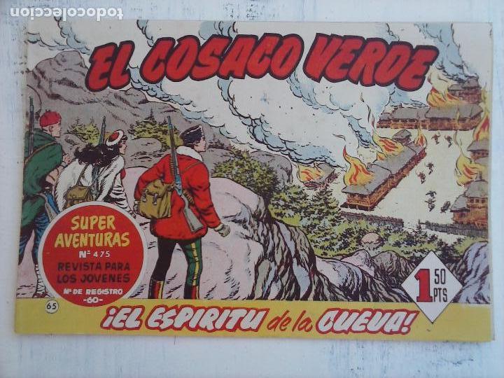 Tebeos: EL COSACO VERDE COMPLETA ORIGINAL Y SUELTA - 1 AL 144 , MAGNÍFICO ESTADO, VER TODAS LAS PORTADAS - Foto 105 - 94629439
