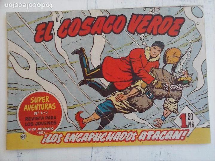 Tebeos: EL COSACO VERDE COMPLETA ORIGINAL Y SUELTA - 1 AL 144 , MAGNÍFICO ESTADO, VER TODAS LAS PORTADAS - Foto 106 - 94629439