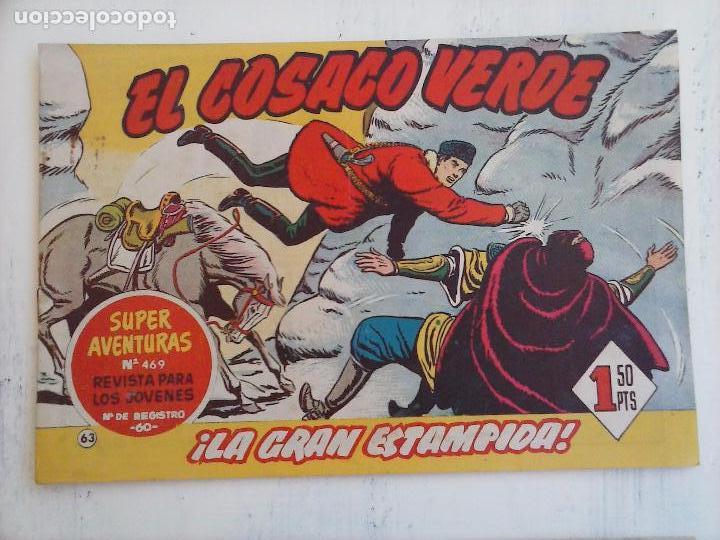 Tebeos: EL COSACO VERDE COMPLETA ORIGINAL Y SUELTA - 1 AL 144 , MAGNÍFICO ESTADO, VER TODAS LAS PORTADAS - Foto 107 - 94629439