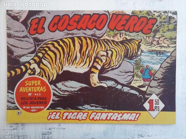 Tebeos: EL COSACO VERDE COMPLETA ORIGINAL Y SUELTA - 1 AL 144 , MAGNÍFICO ESTADO, VER TODAS LAS PORTADAS - Foto 109 - 94629439