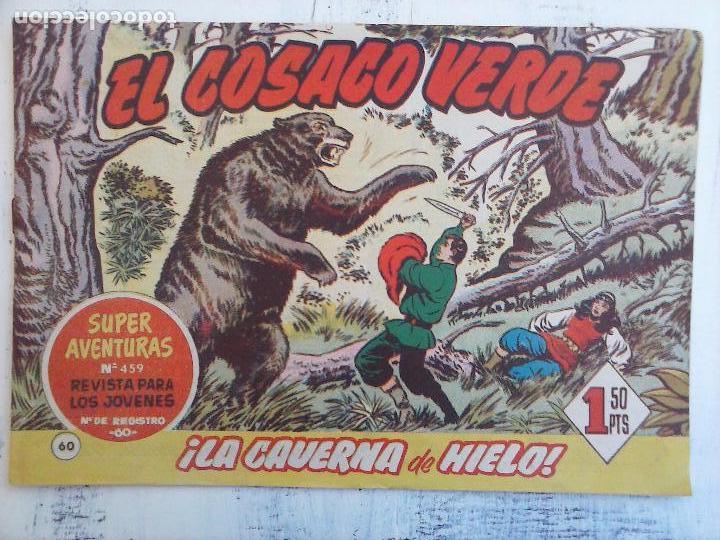 Tebeos: EL COSACO VERDE COMPLETA ORIGINAL Y SUELTA - 1 AL 144 , MAGNÍFICO ESTADO, VER TODAS LAS PORTADAS - Foto 110 - 94629439