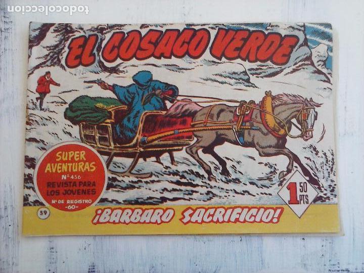 Tebeos: EL COSACO VERDE COMPLETA ORIGINAL Y SUELTA - 1 AL 144 , MAGNÍFICO ESTADO, VER TODAS LAS PORTADAS - Foto 111 - 94629439