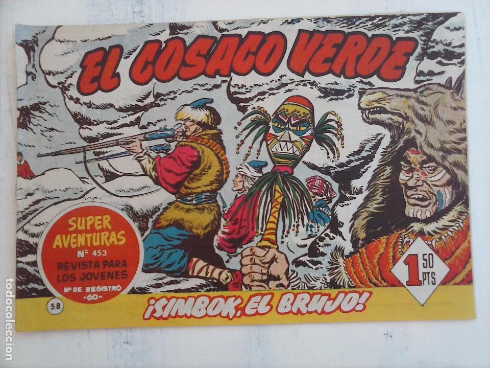 Tebeos: EL COSACO VERDE COMPLETA ORIGINAL Y SUELTA - 1 AL 144 , MAGNÍFICO ESTADO, VER TODAS LAS PORTADAS - Foto 112 - 94629439