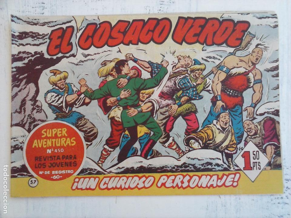 Tebeos: EL COSACO VERDE COMPLETA ORIGINAL Y SUELTA - 1 AL 144 , MAGNÍFICO ESTADO, VER TODAS LAS PORTADAS - Foto 113 - 94629439