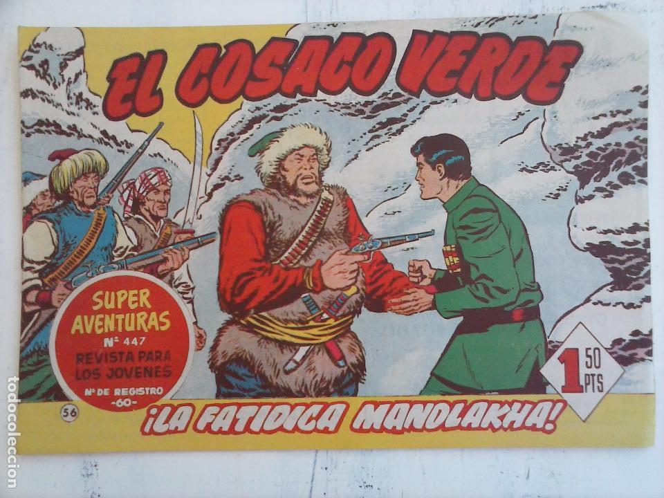 Tebeos: EL COSACO VERDE COMPLETA ORIGINAL Y SUELTA - 1 AL 144 , MAGNÍFICO ESTADO, VER TODAS LAS PORTADAS - Foto 114 - 94629439
