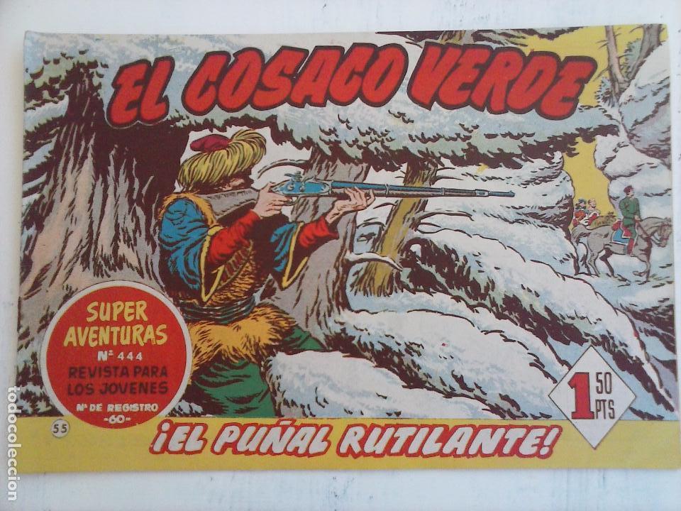 Tebeos: EL COSACO VERDE COMPLETA ORIGINAL Y SUELTA - 1 AL 144 , MAGNÍFICO ESTADO, VER TODAS LAS PORTADAS - Foto 115 - 94629439