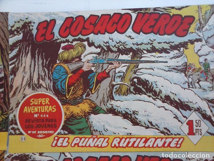 Tebeos: EL COSACO VERDE COMPLETA ORIGINAL Y SUELTA - 1 AL 144 , MAGNÍFICO ESTADO, VER TODAS LAS PORTADAS - Foto 116 - 94629439