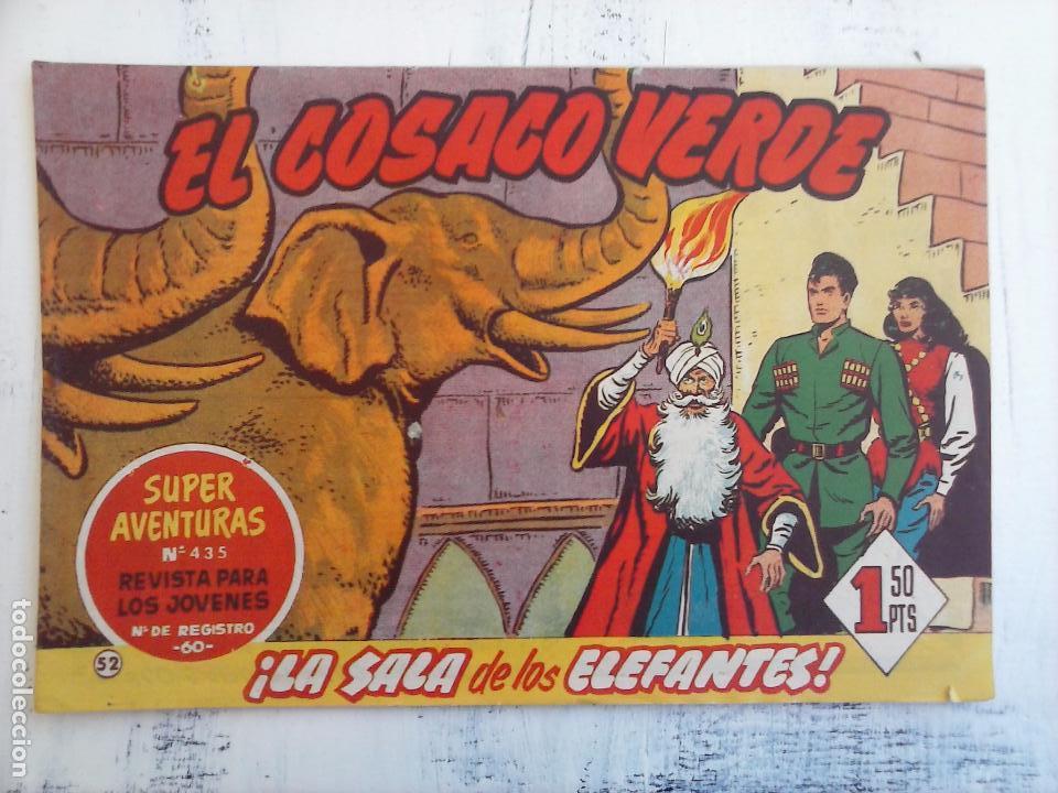 Tebeos: EL COSACO VERDE COMPLETA ORIGINAL Y SUELTA - 1 AL 144 , MAGNÍFICO ESTADO, VER TODAS LAS PORTADAS - Foto 118 - 94629439