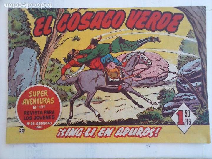 Tebeos: EL COSACO VERDE COMPLETA ORIGINAL Y SUELTA - 1 AL 144 , MAGNÍFICO ESTADO, VER TODAS LAS PORTADAS - Foto 120 - 94629439