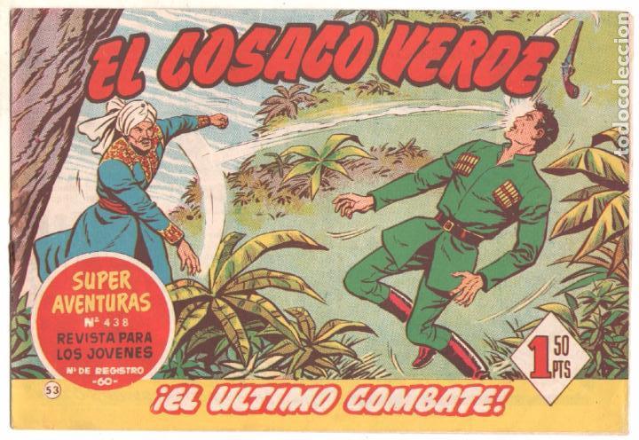 Tebeos: EL COSACO VERDE COMPLETA ORIGINAL Y SUELTA - 1 AL 144 , MAGNÍFICO ESTADO, VER TODAS LAS PORTADAS - Foto 121 - 94629439