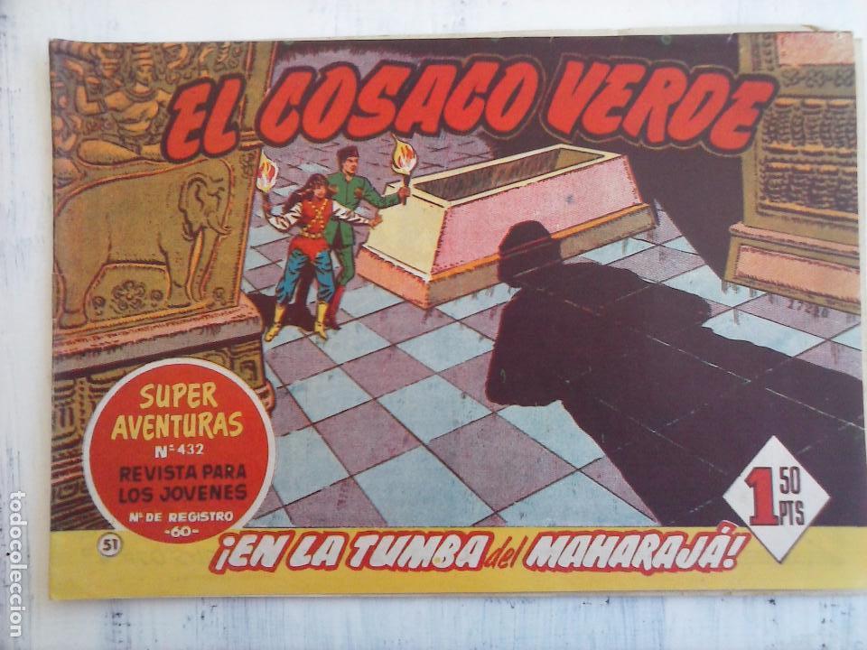 Tebeos: EL COSACO VERDE COMPLETA ORIGINAL Y SUELTA - 1 AL 144 , MAGNÍFICO ESTADO, VER TODAS LAS PORTADAS - Foto 122 - 94629439
