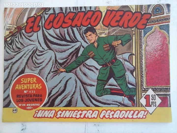 Tebeos: EL COSACO VERDE COMPLETA ORIGINAL Y SUELTA - 1 AL 144 , MAGNÍFICO ESTADO, VER TODAS LAS PORTADAS - Foto 124 - 94629439