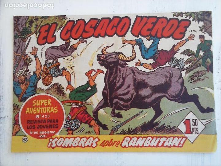 Tebeos: EL COSACO VERDE COMPLETA ORIGINAL Y SUELTA - 1 AL 144 , MAGNÍFICO ESTADO, VER TODAS LAS PORTADAS - Foto 125 - 94629439