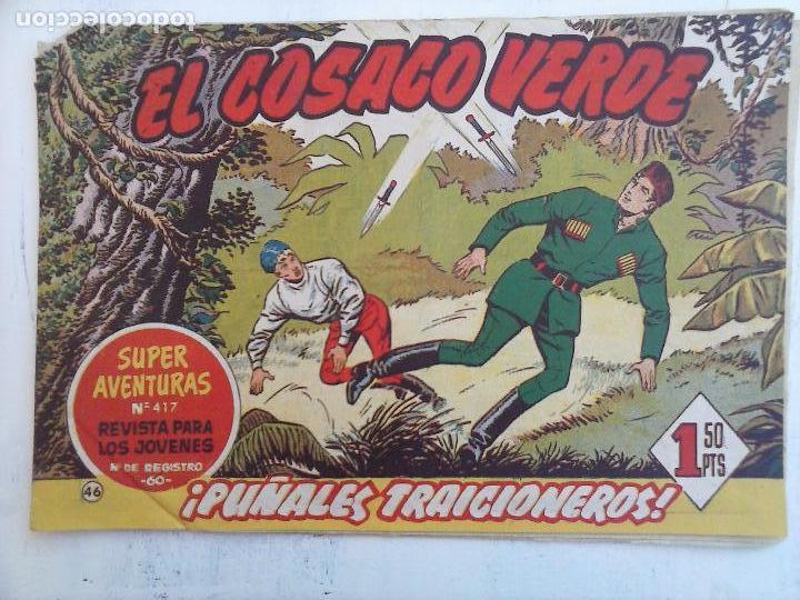 Tebeos: EL COSACO VERDE COMPLETA ORIGINAL Y SUELTA - 1 AL 144 , MAGNÍFICO ESTADO, VER TODAS LAS PORTADAS - Foto 126 - 94629439