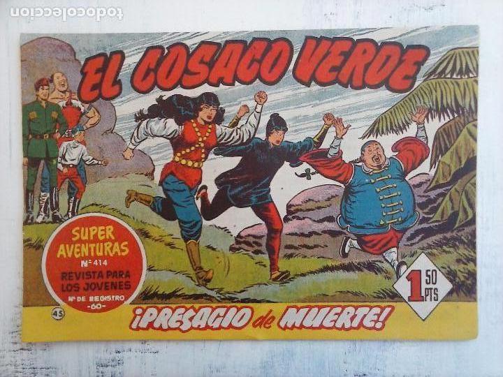 Tebeos: EL COSACO VERDE COMPLETA ORIGINAL Y SUELTA - 1 AL 144 , MAGNÍFICO ESTADO, VER TODAS LAS PORTADAS - Foto 127 - 94629439