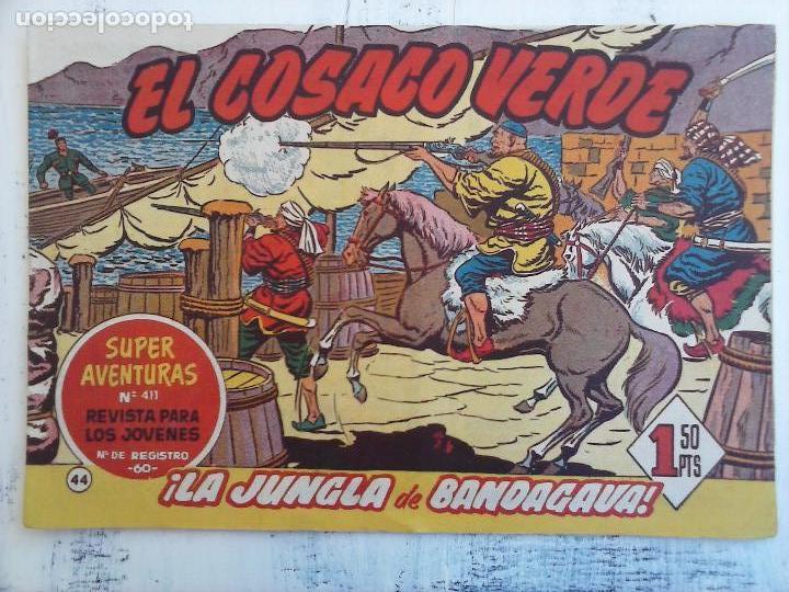 Tebeos: EL COSACO VERDE COMPLETA ORIGINAL Y SUELTA - 1 AL 144 , MAGNÍFICO ESTADO, VER TODAS LAS PORTADAS - Foto 128 - 94629439