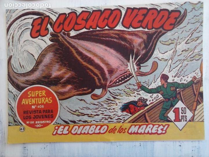 Tebeos: EL COSACO VERDE COMPLETA ORIGINAL Y SUELTA - 1 AL 144 , MAGNÍFICO ESTADO, VER TODAS LAS PORTADAS - Foto 129 - 94629439