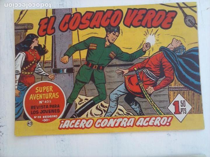 Tebeos: EL COSACO VERDE COMPLETA ORIGINAL Y SUELTA - 1 AL 144 , MAGNÍFICO ESTADO, VER TODAS LAS PORTADAS - Foto 130 - 94629439