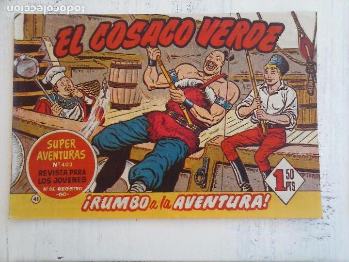Tebeos: EL COSACO VERDE COMPLETA ORIGINAL Y SUELTA - 1 AL 144 , MAGNÍFICO ESTADO, VER TODAS LAS PORTADAS - Foto 131 - 94629439