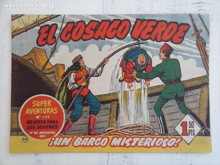 Tebeos: EL COSACO VERDE COMPLETA ORIGINAL Y SUELTA - 1 AL 144 , MAGNÍFICO ESTADO, VER TODAS LAS PORTADAS - Foto 132 - 94629439