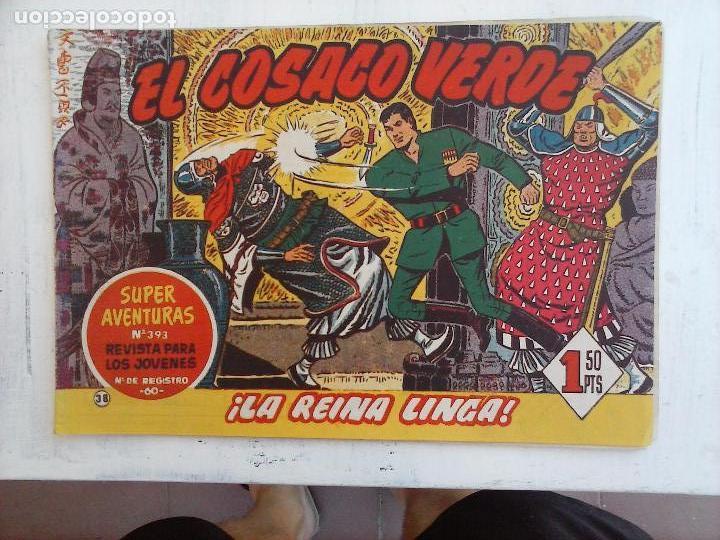 Tebeos: EL COSACO VERDE COMPLETA ORIGINAL Y SUELTA - 1 AL 144 , MAGNÍFICO ESTADO, VER TODAS LAS PORTADAS - Foto 134 - 94629439
