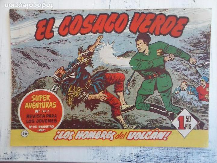 Tebeos: EL COSACO VERDE COMPLETA ORIGINAL Y SUELTA - 1 AL 144 , MAGNÍFICO ESTADO, VER TODAS LAS PORTADAS - Foto 136 - 94629439