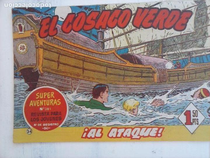 Tebeos: EL COSACO VERDE COMPLETA ORIGINAL Y SUELTA - 1 AL 144 , MAGNÍFICO ESTADO, VER TODAS LAS PORTADAS - Foto 138 - 94629439