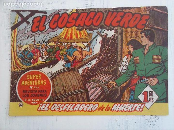 Tebeos: EL COSACO VERDE COMPLETA ORIGINAL Y SUELTA - 1 AL 144 , MAGNÍFICO ESTADO, VER TODAS LAS PORTADAS - Foto 139 - 94629439