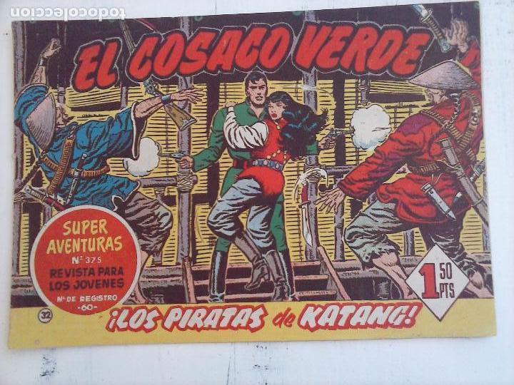 Tebeos: EL COSACO VERDE COMPLETA ORIGINAL Y SUELTA - 1 AL 144 , MAGNÍFICO ESTADO, VER TODAS LAS PORTADAS - Foto 140 - 94629439