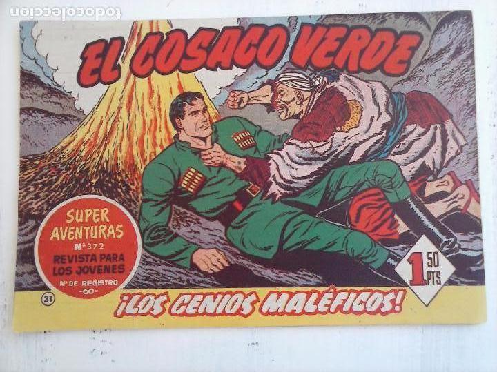 Tebeos: EL COSACO VERDE COMPLETA ORIGINAL Y SUELTA - 1 AL 144 , MAGNÍFICO ESTADO, VER TODAS LAS PORTADAS - Foto 141 - 94629439