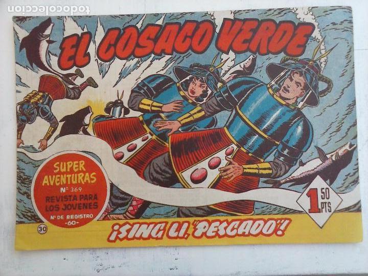 Tebeos: EL COSACO VERDE COMPLETA ORIGINAL Y SUELTA - 1 AL 144 , MAGNÍFICO ESTADO, VER TODAS LAS PORTADAS - Foto 142 - 94629439