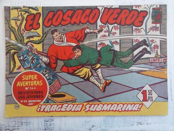 Tebeos: EL COSACO VERDE COMPLETA ORIGINAL Y SUELTA - 1 AL 144 , MAGNÍFICO ESTADO, VER TODAS LAS PORTADAS - Foto 143 - 94629439