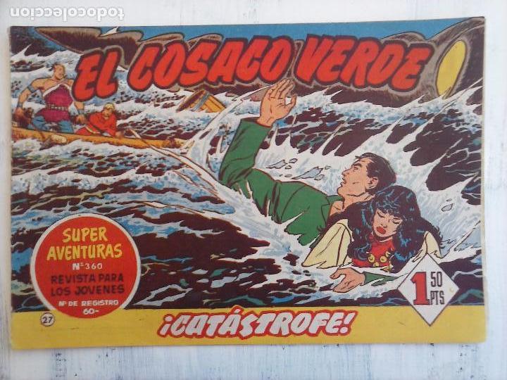 Tebeos: EL COSACO VERDE COMPLETA ORIGINAL Y SUELTA - 1 AL 144 , MAGNÍFICO ESTADO, VER TODAS LAS PORTADAS - Foto 145 - 94629439