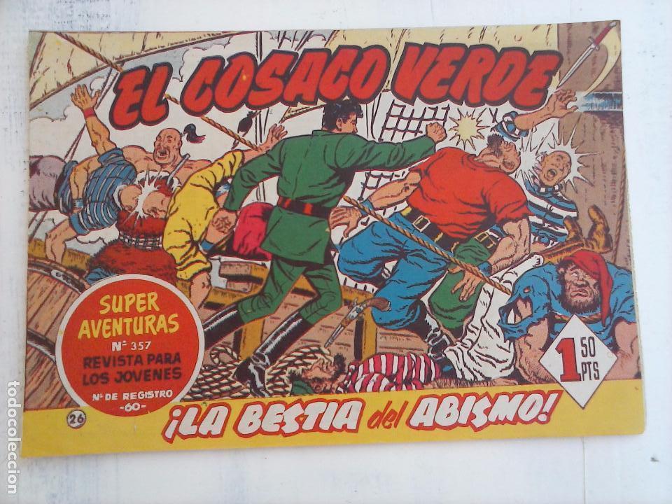 Tebeos: EL COSACO VERDE COMPLETA ORIGINAL Y SUELTA - 1 AL 144 , MAGNÍFICO ESTADO, VER TODAS LAS PORTADAS - Foto 146 - 94629439