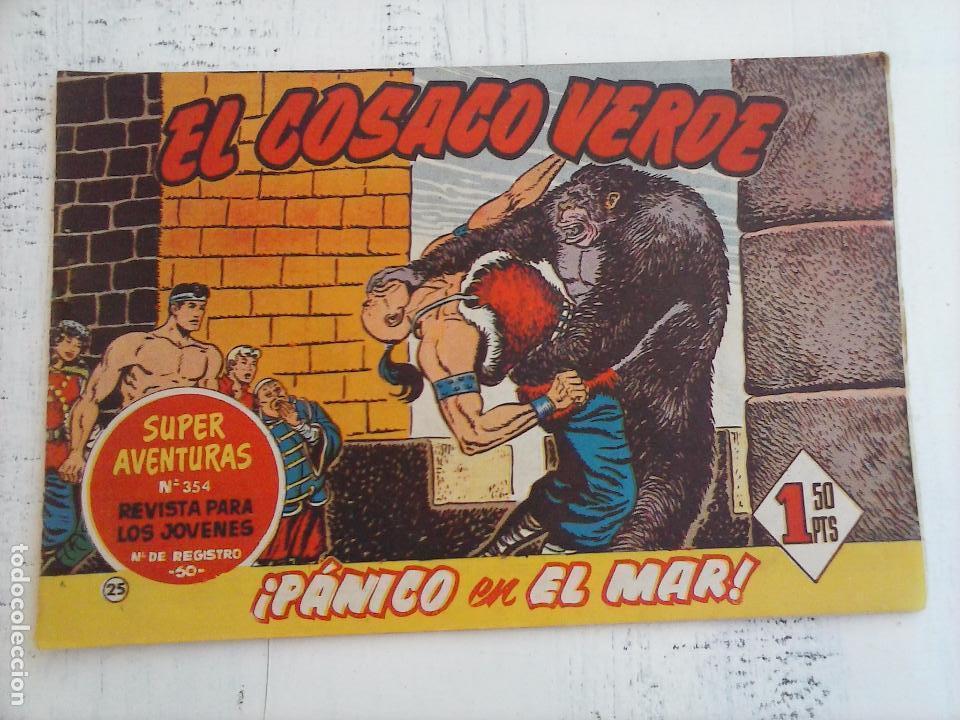 Tebeos: EL COSACO VERDE COMPLETA ORIGINAL Y SUELTA - 1 AL 144 , MAGNÍFICO ESTADO, VER TODAS LAS PORTADAS - Foto 147 - 94629439