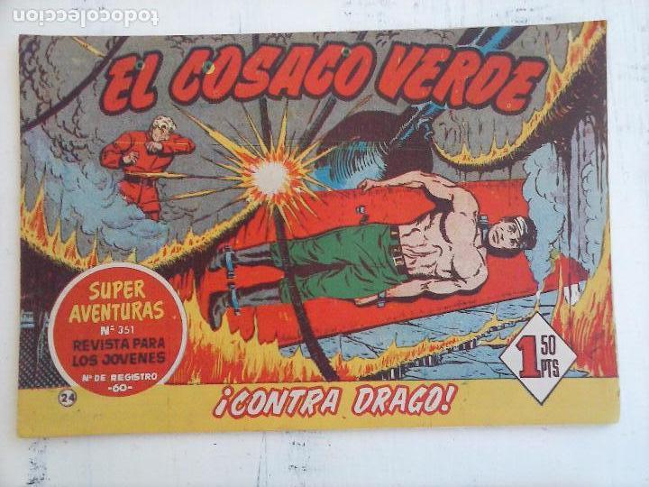 Tebeos: EL COSACO VERDE COMPLETA ORIGINAL Y SUELTA - 1 AL 144 , MAGNÍFICO ESTADO, VER TODAS LAS PORTADAS - Foto 148 - 94629439