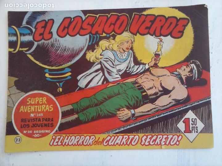 Tebeos: EL COSACO VERDE COMPLETA ORIGINAL Y SUELTA - 1 AL 144 , MAGNÍFICO ESTADO, VER TODAS LAS PORTADAS - Foto 149 - 94629439