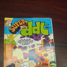 Tebeos: SUPER DDT. Nº 6. EDITORIAL BRUGUERA. 1973. Lote 94630867