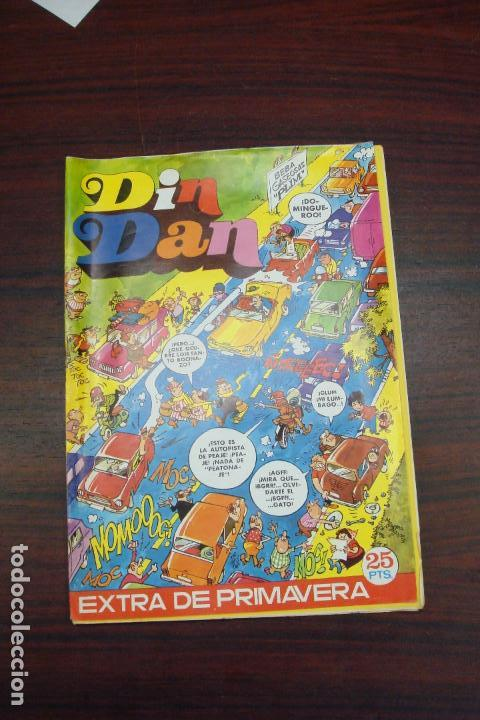 DIN DAN EXTRA DE PRIMAVERA. EDITORIAL BRUGUERA. 1973 (Tebeos y Comics - Bruguera - Din Dan)