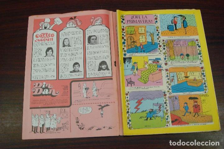 Tebeos: DIN DAN EXTRA DE PRIMAVERA. EDITORIAL BRUGUERA. 1973 - Foto 2 - 94631367