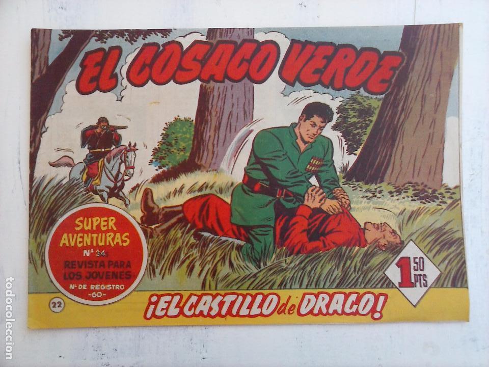 Tebeos: EL COSACO VERDE COMPLETA ORIGINAL Y SUELTA - 1 AL 144 , MAGNÍFICO ESTADO, VER TODAS LAS PORTADAS - Foto 150 - 94629439