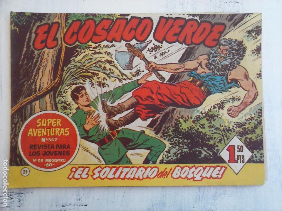 Tebeos: EL COSACO VERDE COMPLETA ORIGINAL Y SUELTA - 1 AL 144 , MAGNÍFICO ESTADO, VER TODAS LAS PORTADAS - Foto 151 - 94629439