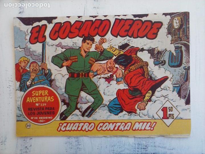 Tebeos: EL COSACO VERDE COMPLETA ORIGINAL Y SUELTA - 1 AL 144 , MAGNÍFICO ESTADO, VER TODAS LAS PORTADAS - Foto 152 - 94629439