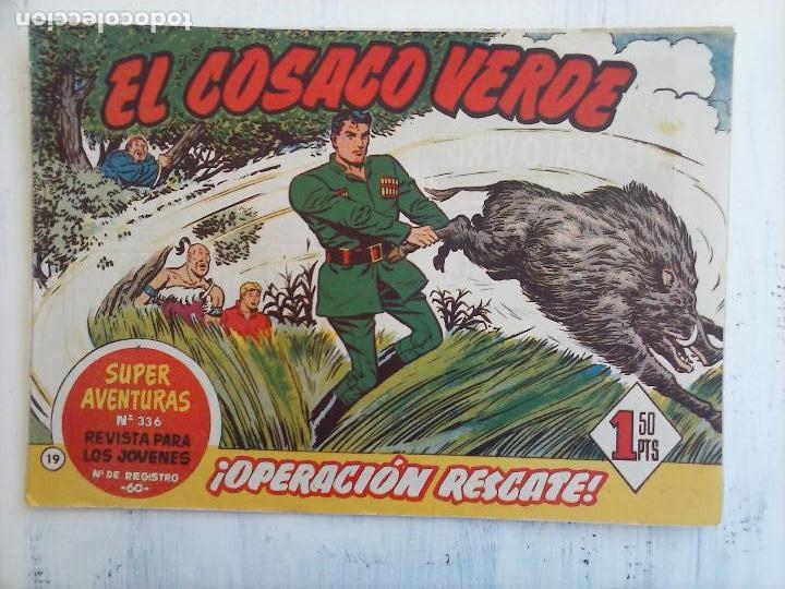 Tebeos: EL COSACO VERDE COMPLETA ORIGINAL Y SUELTA - 1 AL 144 , MAGNÍFICO ESTADO, VER TODAS LAS PORTADAS - Foto 153 - 94629439