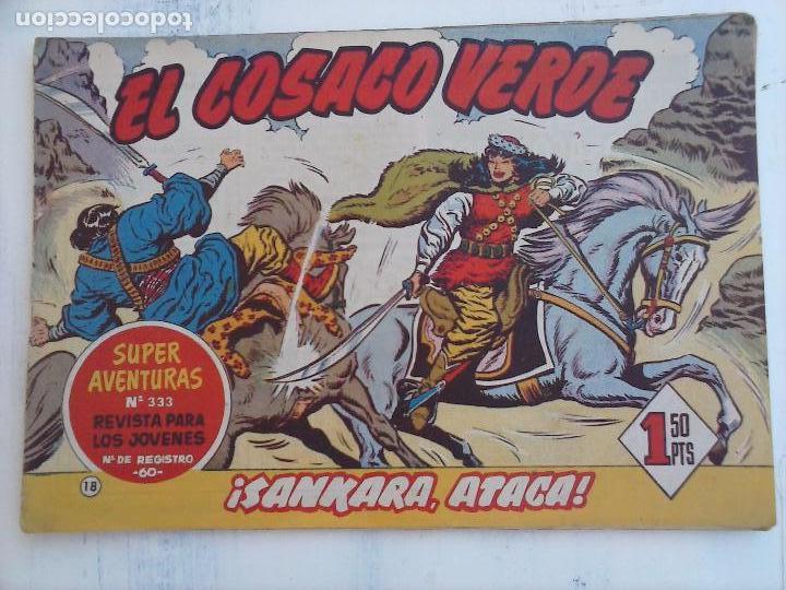 Tebeos: EL COSACO VERDE COMPLETA ORIGINAL Y SUELTA - 1 AL 144 , MAGNÍFICO ESTADO, VER TODAS LAS PORTADAS - Foto 154 - 94629439