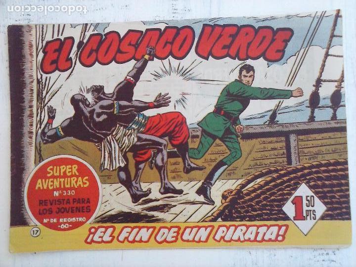 Tebeos: EL COSACO VERDE COMPLETA ORIGINAL Y SUELTA - 1 AL 144 , MAGNÍFICO ESTADO, VER TODAS LAS PORTADAS - Foto 155 - 94629439