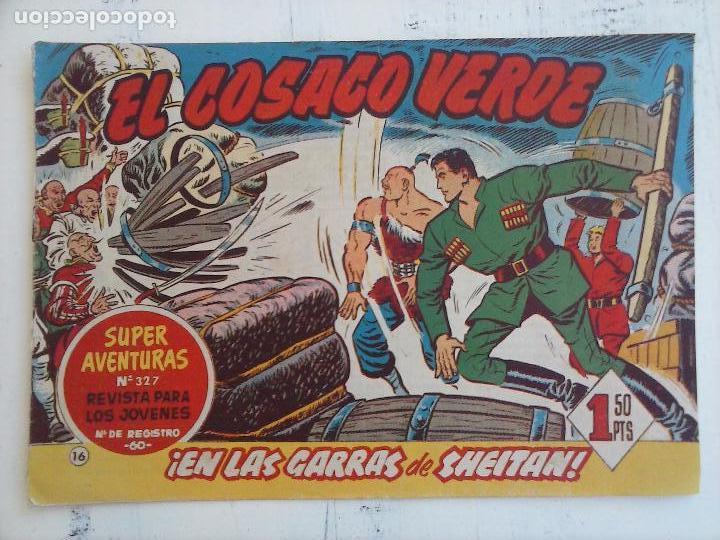 Tebeos: EL COSACO VERDE COMPLETA ORIGINAL Y SUELTA - 1 AL 144 , MAGNÍFICO ESTADO, VER TODAS LAS PORTADAS - Foto 156 - 94629439