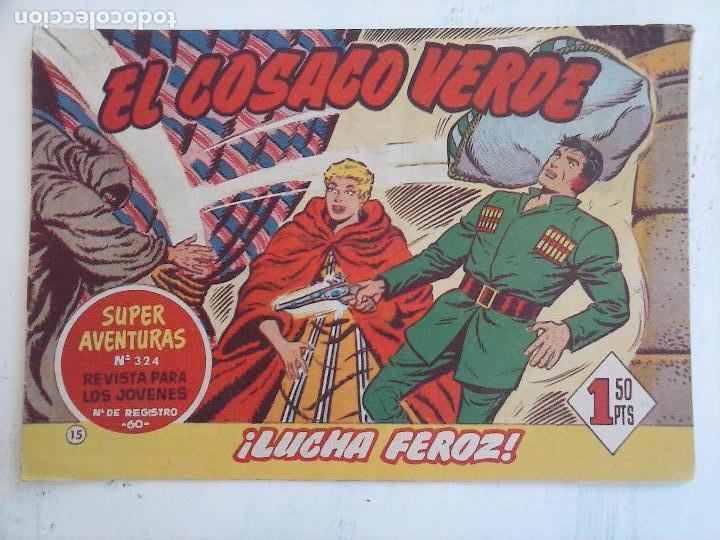 Tebeos: EL COSACO VERDE COMPLETA ORIGINAL Y SUELTA - 1 AL 144 , MAGNÍFICO ESTADO, VER TODAS LAS PORTADAS - Foto 157 - 94629439